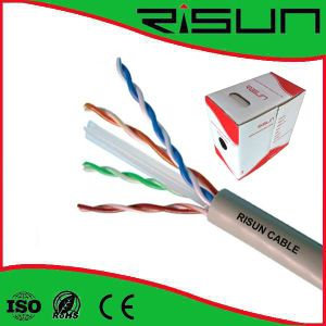 Factory Price UTP CAT6 Solid LAN Cable Passed CPR pictures & photos