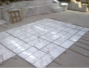 Volakas White Marble Price, White Marble Living Room Wall Tile pictures & photos