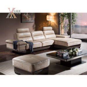 Living Room Leather Sofa Set with Storing Space (826) pictures & photos