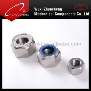 Carbon Steel DIN982 DIN985 Zp Nylock Nut pictures & photos