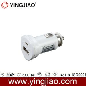 5V 2.1W 10W White DC USB in Car Charger pictures & photos