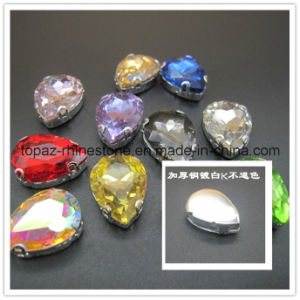 Newest Jewelry Necklace Crystal Rhinestone for Necklace (SW-drop/10*14mm) pictures & photos