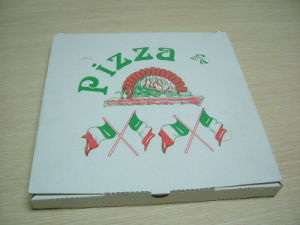 Custom Design Corrugated Paper Cardbaord Pizza Boxes pictures & photos
