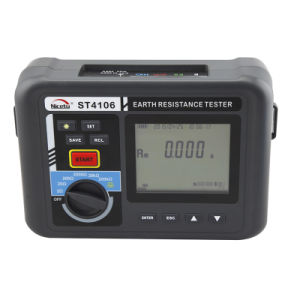 High Test Current Earth Resistance Measure with 4, 3 and 2 Wires