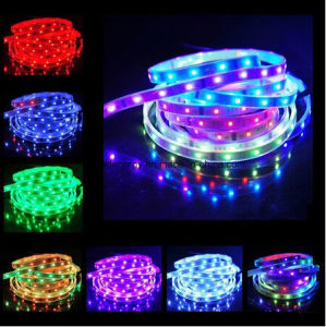 Ce and Rhos 60SMD5050 RGB LED Strip pictures & photos