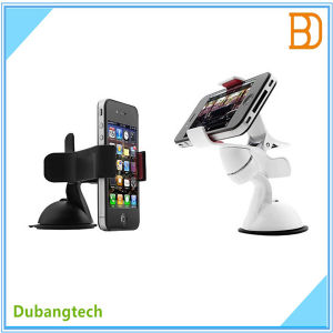 360-Degree Rotating Car Holder for Mobile Phone GPS Devices