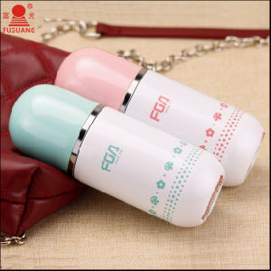 Fuguang Fz1031-180 180ml Lovely Capsule Double 18/8 S/S Vacuum Mug pictures & photos