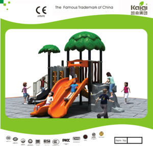 Kaiqi Small Forest Series Children′s Playground with Slides (KQ20016A) pictures & photos