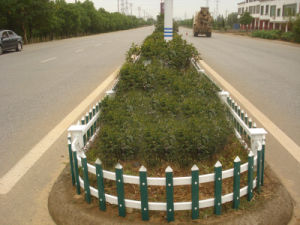Conch Garden Fence PVC/UPVC Profile pictures & photos
