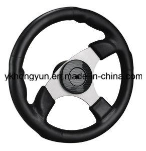 Wholewin 3 Spokes Boat Steering Wheel Yk7-161-E