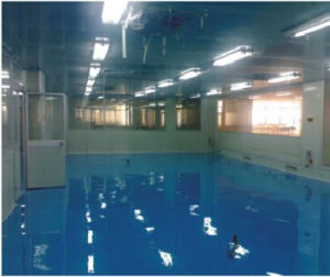 Hualong Anti-Static Self Levelling Epoxy Floor Paint pictures & photos