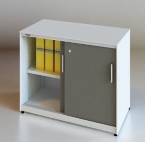 Office Filing Cabinet with Sliding Door (SV-SL1046) pictures & photos