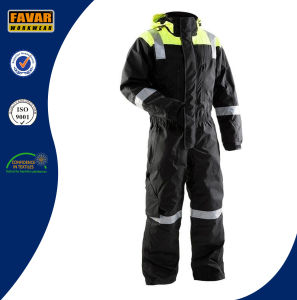 En471 Russia Winter Warm High Vis Coverall