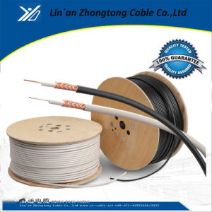 Coaxial Cable RG6 Messenger/3c 2V Coaxial Cable