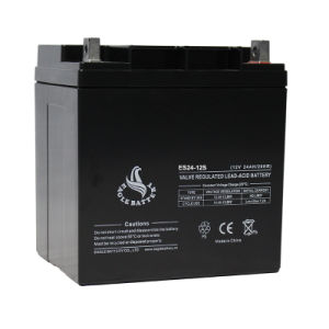 12V 24ah AGM UPS Storage Sealed Lead Acid Battery with Ce