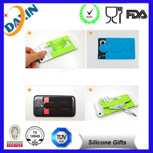 Silicone Cell Phone Holder, Silicone Phone Stand, Sticky Stand pictures & photos