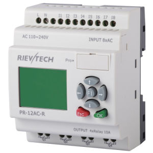 Programmable Logic Controller for Intelligent Control (PR-12AC-R-HMI) pictures & photos