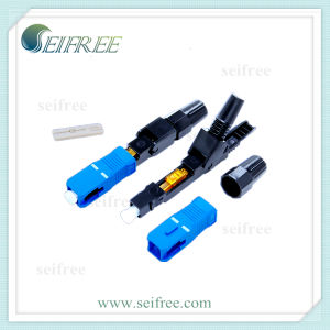 FTTH Access Network Optical Fiber Connector pictures & photos