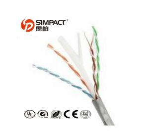 Copper Clad Steel Wire Cat 5 UTP Cable pictures & photos