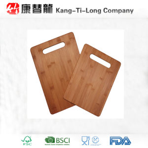 Carbonized Bamboo Cutting Board Set