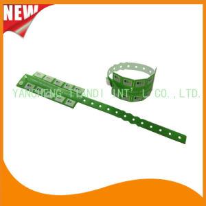 Entertainment 10 Tab Vinyl Plastic Wristbands ID Bracelet (E6070-10-7) pictures & photos