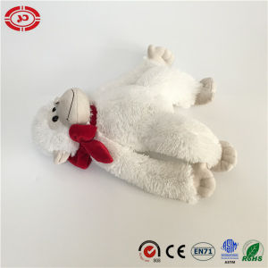 Fluffy White Monkey Stuffed Sitting Fancy Quality Plush Soft Toy pictures & photos