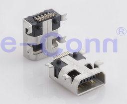 Mini USB B Type Female SMT Recceptacle Conn pictures & photos