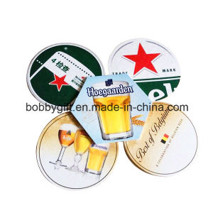 Advertising Cartoon Printed Paper Cup Coaster for Sales pictures & photos