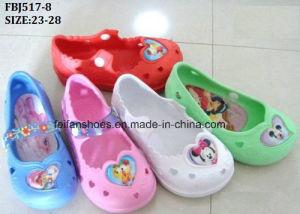 Fancy Kid Clog Cartoon Pattern EVA Garden Shoes (FBJ517-8) pictures & photos