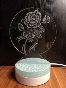 China Manufacturer Craft Acrylic 3D Laser Engraving pictures & photos