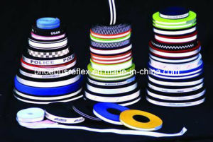 Reflective Webbing Strip Shoes Material pictures & photos