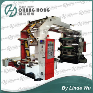 High Speed Six Color Plastic Bag Roll Printing Machine pictures & photos
