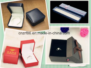Jewelry Paper Gift Box with Ribbon for Ring Paper Ring Box pictures & photos
