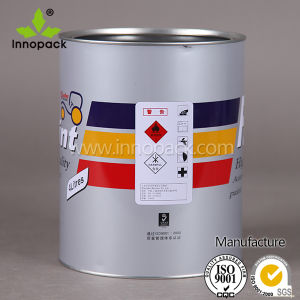 Painted Bucket Open Top Metal Tin Can for Chemical/Paint pictures & photos