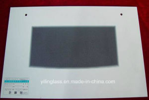 Silk Screen Printed Tempered Glass for Roaster Door pictures & photos