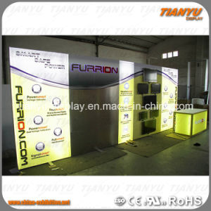 Super Fancy Exhibition Stand with LED Lights pictures & photos
