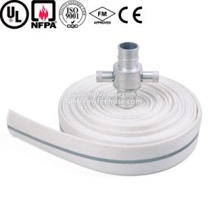2 Inch Double Jacket Cotton Ageing Resistance of PU Canvas Fire Hose pictures & photos