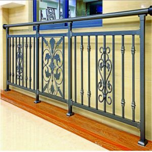 Fashional Galvanized Steel Security Balcony Balustrades