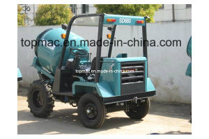 China Top Quality Self Load Mobile Dumper Mixer pictures & photos