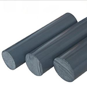 Grey Color Extruded PVC Rod for Chemical Industry pictures & photos