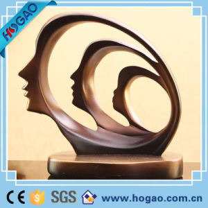 Resin Face Abstract Modern Statue pictures & photos