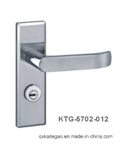 (KTG-5702-012) SUS304 High Quality Stainless Steel Door Handle on Plate pictures & photos