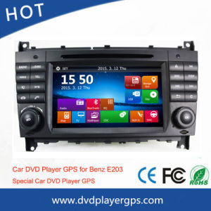 Android System GPS Car DVD Player for Mercedes Benz W203 pictures & photos