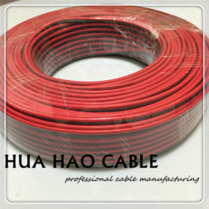 2X1.0mm2 Black/Red Speaker Cable Factory in Ningbo pictures & photos