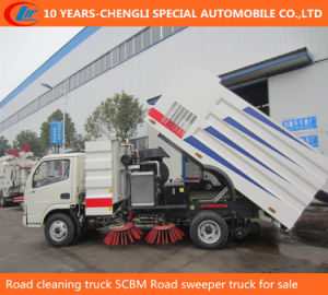 Road Cleaning Truck 5cbm Road Sweeper Truck for Sale pictures & photos