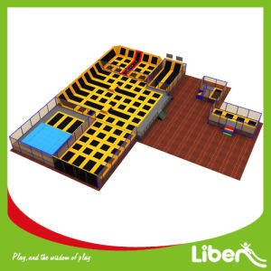 Liben Commercial Large Adults Indoor Trampoline Court pictures & photos