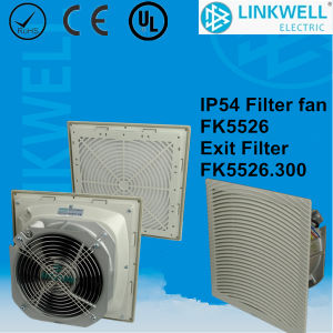 Compact Polyrethane Wall Mounted Electrical Exhaust Fan Filter (FK5526) pictures & photos