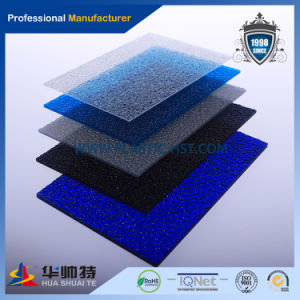 Nice Excellent Plastic PC Embossed Sheet (blue) pictures & photos