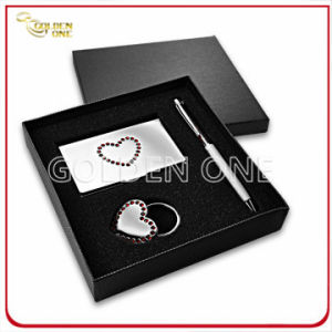 Shiny Metal Card Holder and Key Chain Executive Gift pictures & photos