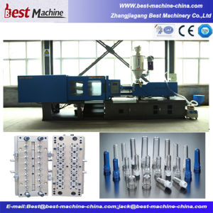 High Quality Plastic Pet Preform Injection Molding Making Machine pictures & photos